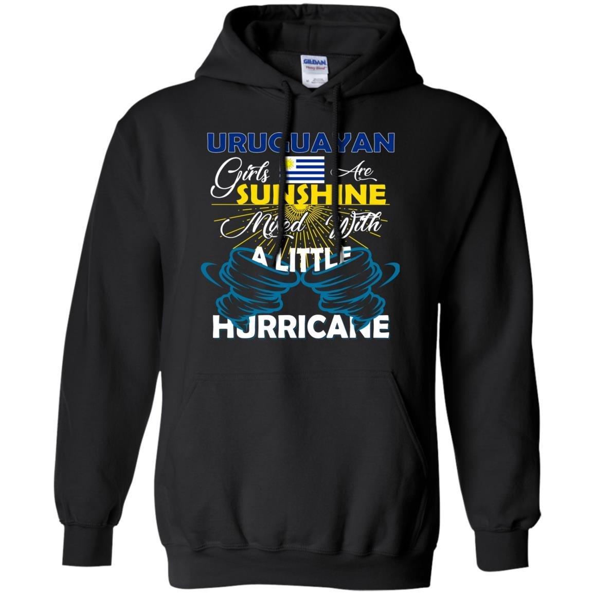 FavoryStore Uruguayan Girls Are Sunshine Mixed With a Little Hurricane Shirt Uruguayan Hoodie