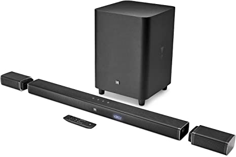 JBL Bar 5.1 - Channel 4K Ultra HD Soundbar with True Wireless Surround Speakers