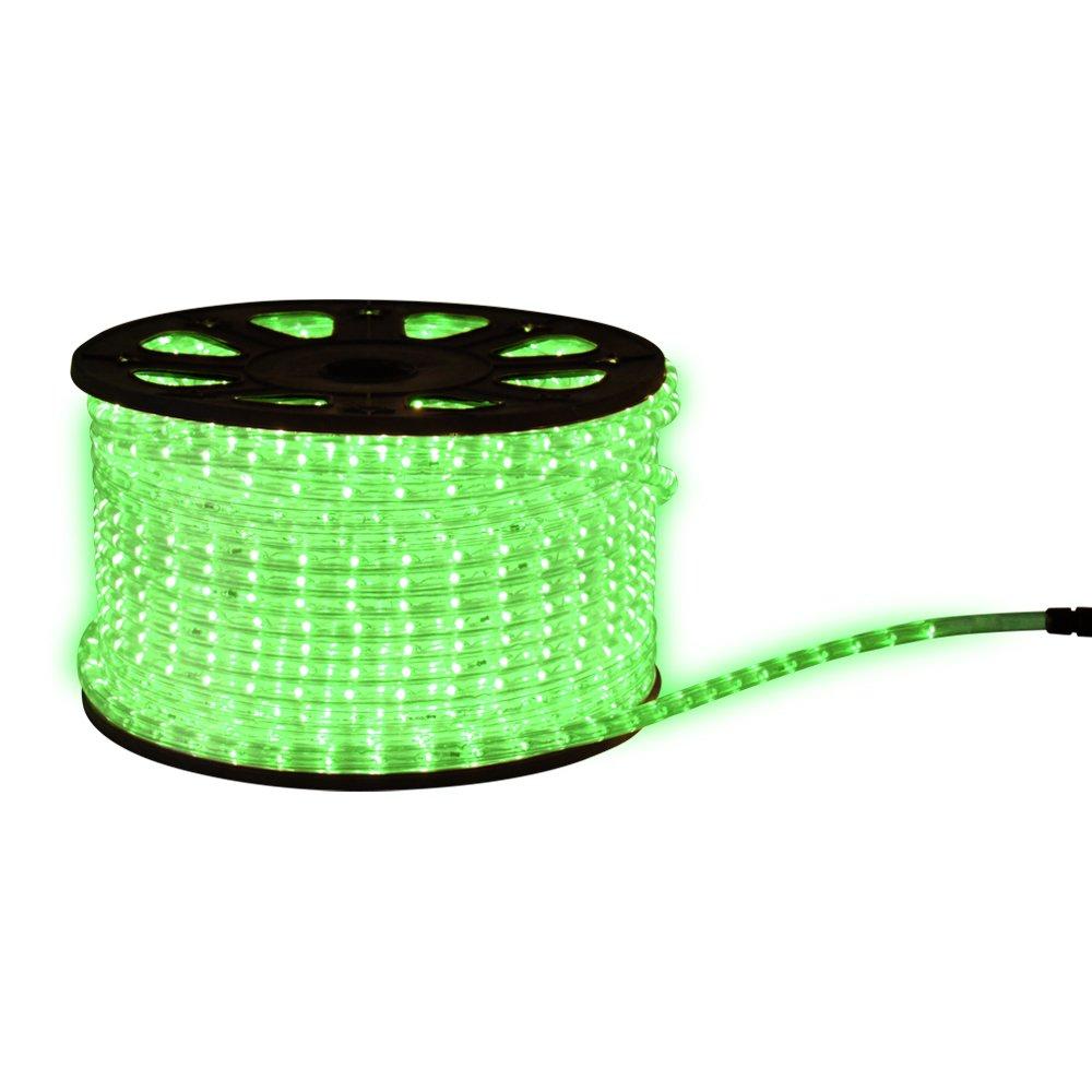 LED Lichterschlauch Lichtschlauch Beleuchtung 14m grün 14 meter + Zuleitung