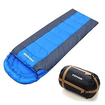 Fenical, saco de dormir ligero de -7 ºC a 10 ºC, para 3 o 4 temporadas para acampar al aire libre y para senderismo: Amazon.es: Deportes y aire libre