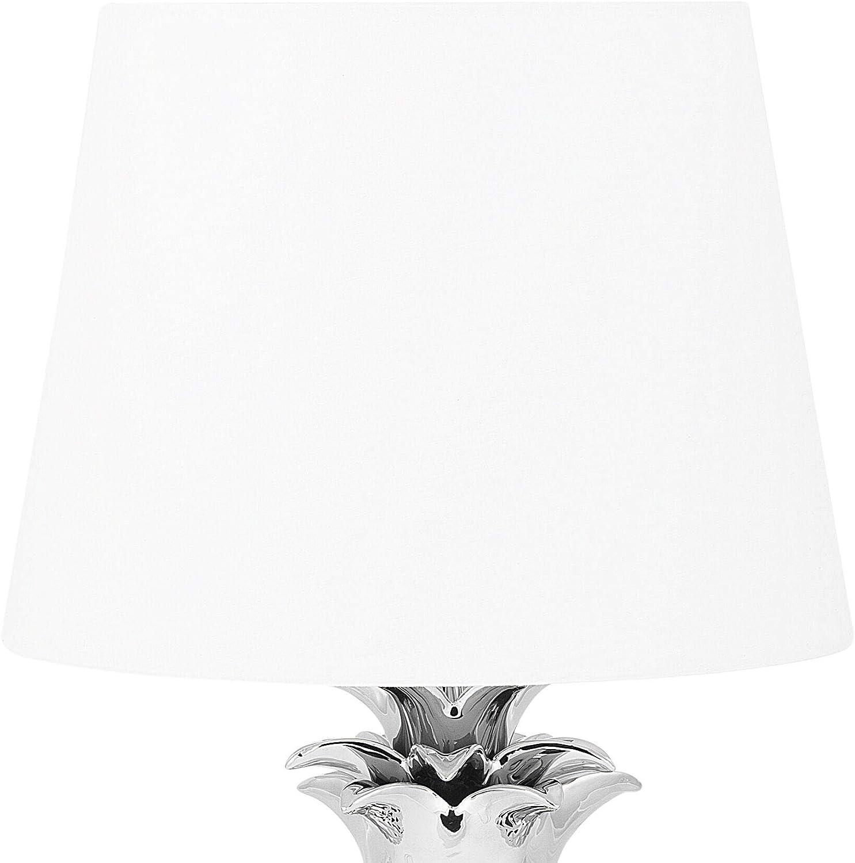 Beliani Pineapple - Lámpara de pie Plateada: Beliani: Amazon.es: Hogar