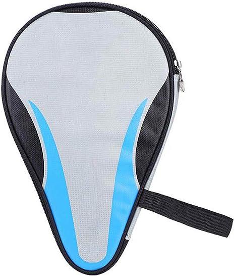 Rehomy Raquetas de Tenis de Mesa Bolsa de Murciélago Oxford Ping Pong Estuche Impermeable a Prueba de Polvo Protección Completa Azul: Amazon.es: Deportes y aire libre