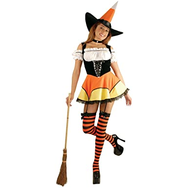 Candy Corn Witch Costume - X-Small - Dress Size 3-5  sc 1 st  Amazon.com & Amazon.com: Candy Corn Witch Costume - X-Small - Dress Size 3-5 ...