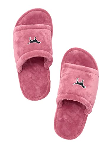 78c29e674 Image Unavailable. Image not available for. Color: Victoria's Secret Pink  Cozy Soft Slipper ...