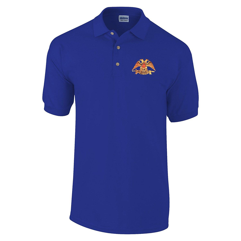 Amazon Scottish Rite 32nd Degree Masonic Personalized Polo