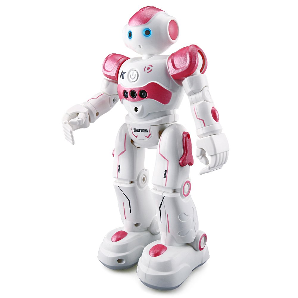 BTG R2 Cady-Wida Cady-WINI Intelligent Gesture Sensor Control RC Robot for Entertainment - Walks in All Direction, Slides, Turns Around, Dances - Toy for Boys/Girls RED