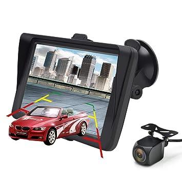 "GPS para Coche Pantalla de 7"" Nüvi con Bluetooth Cámara de Respaldo del Vehículo Gratis"
