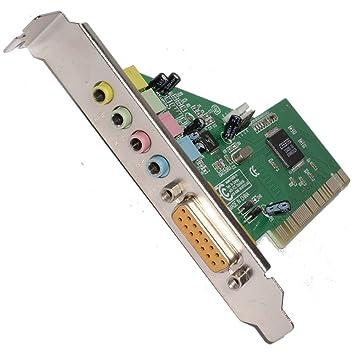Interno PCI Sonido Tarjeta 4 Channel CS4281 CQ Chipset Con ...