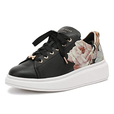 4e8c4606a Ted Baker Womens Iguazu Black Ailbe Trainers-UK 3: Amazon.co.uk ...