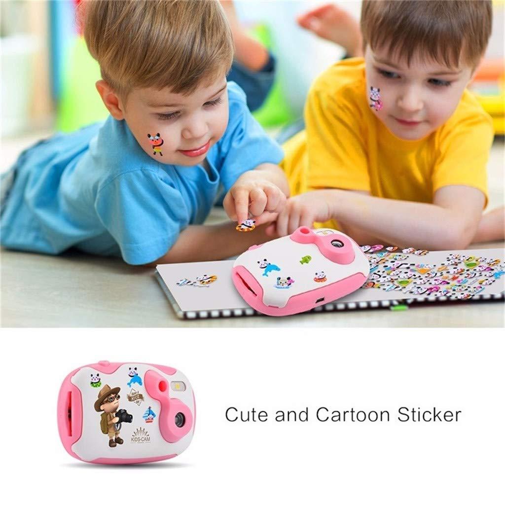 Sdoveb Children Sport Camera 1.7 Inch Portable Kids Camera Video Recorder DV DVR Cam Camcorder Camera (Pink) by Sdoveb (Image #3)