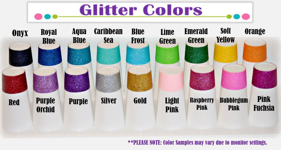 Unicorn Shot Glass - Because Unicorns are real. Have fun with this glitter shot glass that you can fully customize - Unicorn Juice!