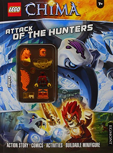 LEGO Chima: Attack of the Hunters: Activity Book With Minifigure (Lego Chima Book Minifigure)