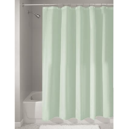 Amazon InterDesign Fabric Shower Curtain Mold And Mildew