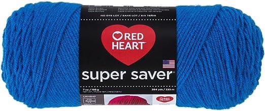 Red Heart E300.0886/Super Saver Yarn Blue