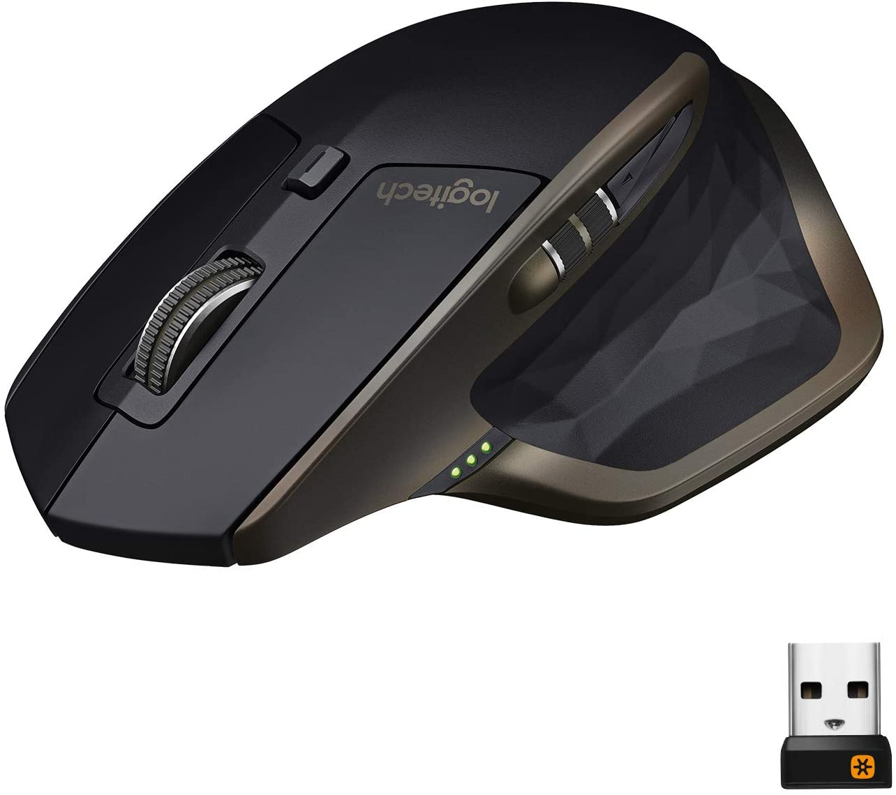 Logitech MX Master Wireless Mouse – High-precision Sensor, Speed-Adaptive Scroll Wheel, Easy-Switch up to 3 Devices - Meteorite Black: Computers & Accessories