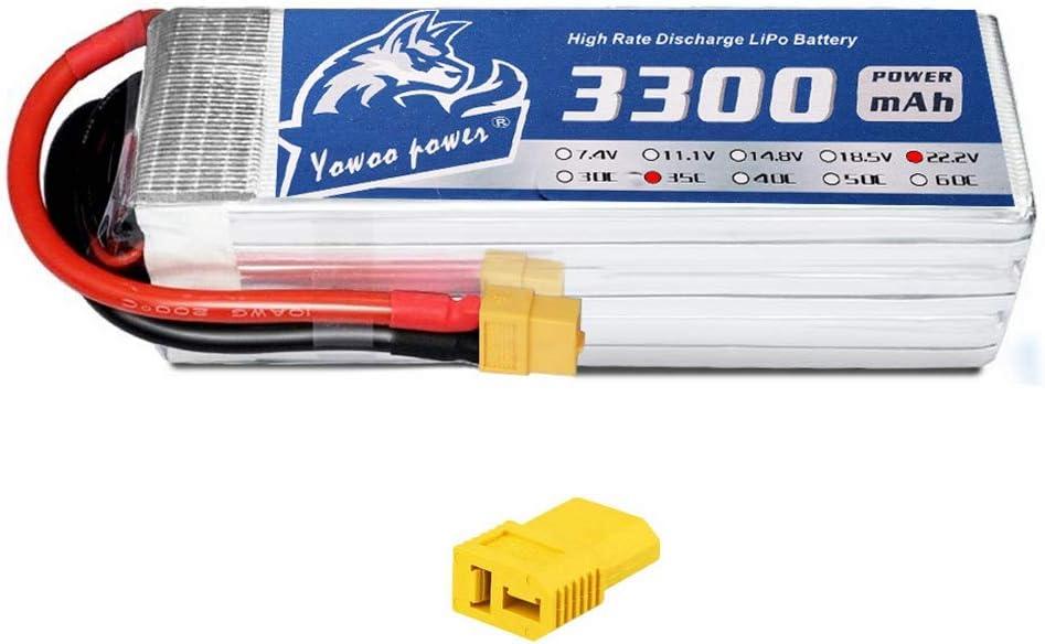 Zeee 2PCS 11.1 V 2200 mAh Lipo Batterie Pack Avec Deans XT60 connecteur pour DJI DR