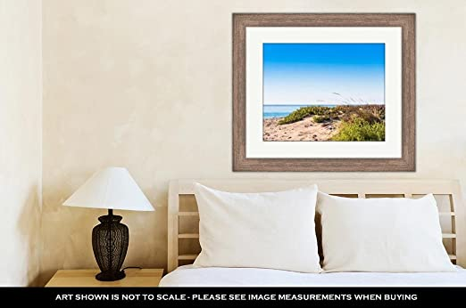 Amazon.com: Ashley Framed Prints Sand Beach in Miami Platja ...
