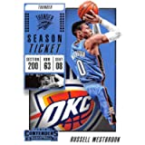 2018-19 Panini Contenders Season Ticket #43 Russell Westbrook NM-MT Oklahoma City Thunder Official NBA Basketball Card