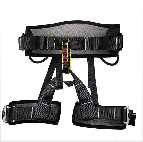 ZLQF Escalada arnés, Cinturón de Seguridad de Medio Cuerpoproteger ...