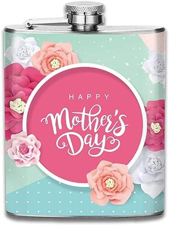 Regalo de saludo para el día de la madre con flores en ...