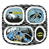 Bumkins Divided Toddler Plate, DC Comics (Melamine), Batman