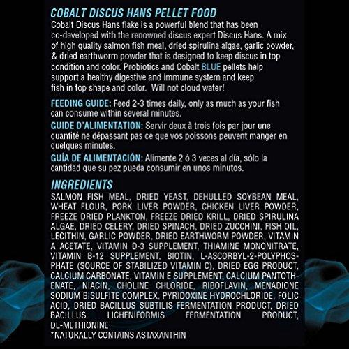 Image of Cobalt Aquatics 10 oz Discus Hans Pellet Fish Food
