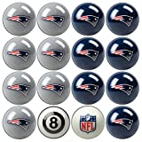 Officially Licensed New England Patriots Billiards Ball Set