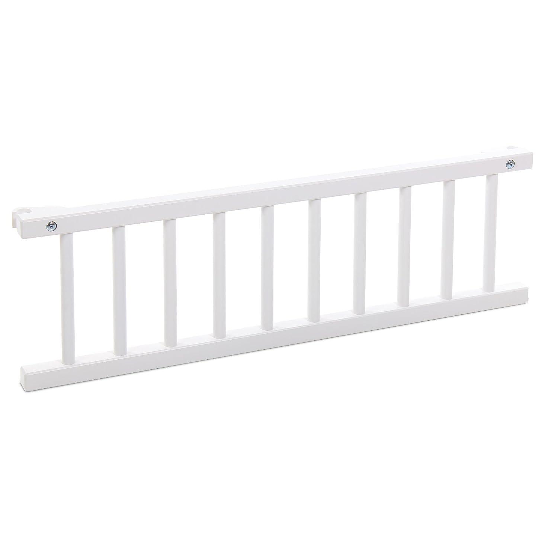 Babybay 100202 - Barrera de seguridad para cuna, color blanco [importado de Alemania]: Amazon.es: Bebé