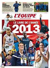 L'Equipe : Le livre de l'année 2013 par Fabrice Jouhaud