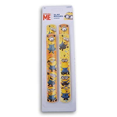 Innovative Designs Despicable Me Minions Slap Bracelets - 4 Count: Clothing