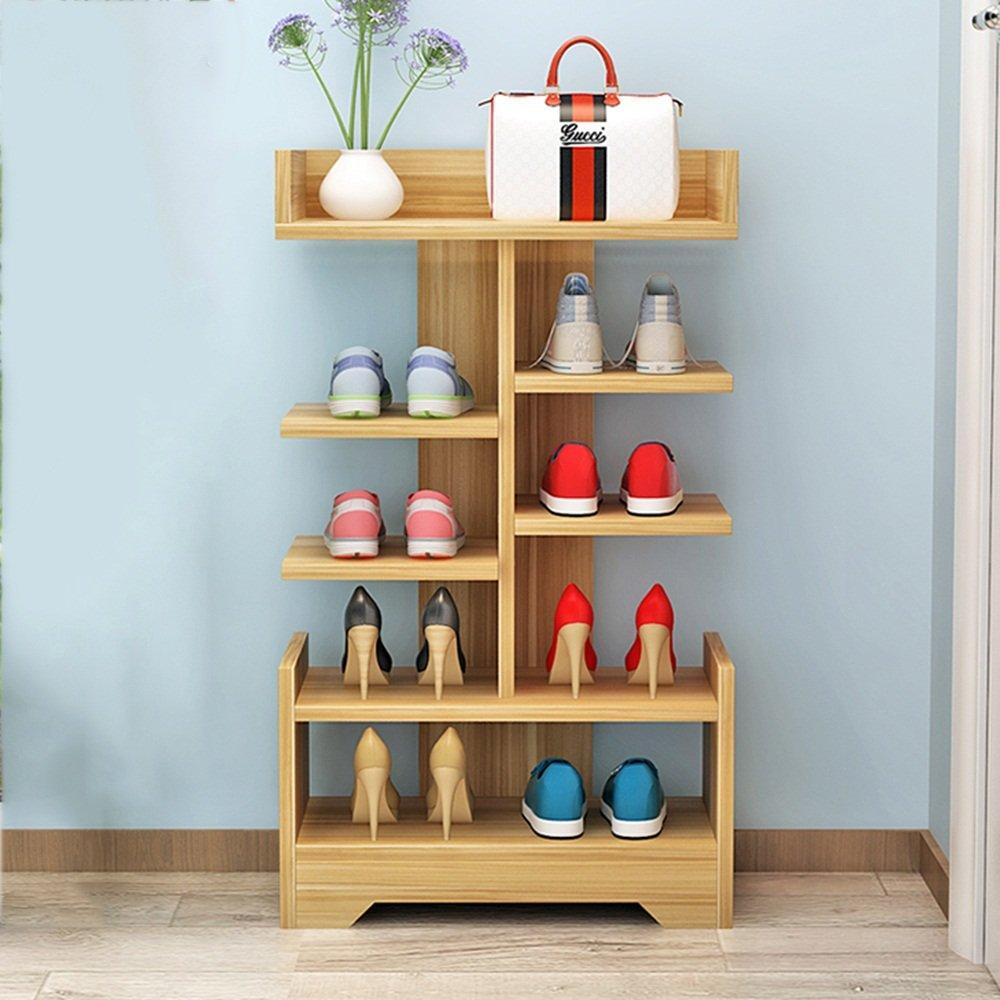 EIDUOシューズラック 5層シンプルな家庭用ソリッドウッド靴ラック多機能居間エントランス収納ラック47 * 24 * 85cm 自宅に適しています (色 : 3, サイズ さいず : 47*24*85cm) B07DK5ZD9J 3 47*24*85cm