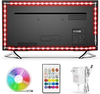 BASON USB LED TV Backlight Kit de 47 a 50 pulgadas, Bias Iluminación LED de banda para la parte trasera de la iluminación de TV Home Movie Theater Decor: Amazon.es: Bricolaje y