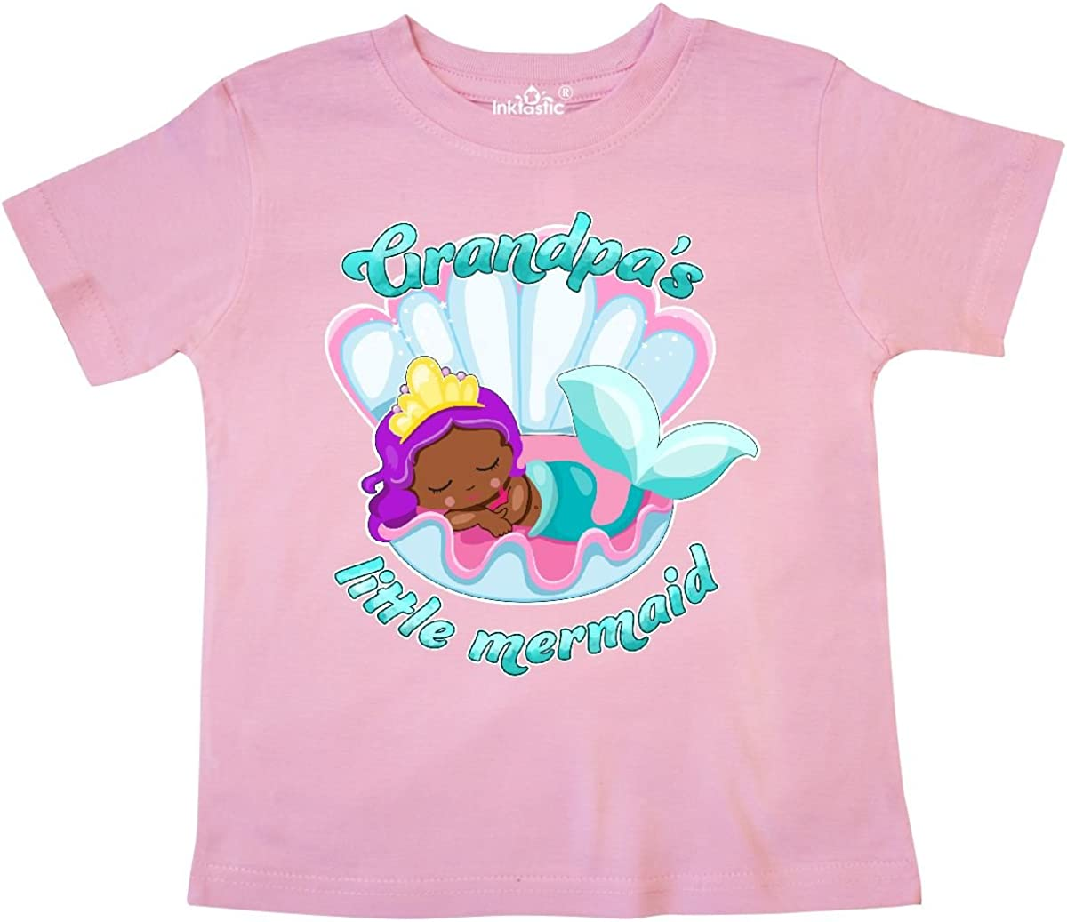inktastic Grandpas Little Mermaid Toddler T-Shirt