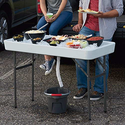 Ice Party Table The Perfect Tailgate Camp Table