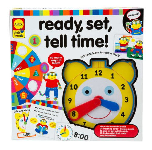 ALEX Toys Little Hands Ready Set Tell Time