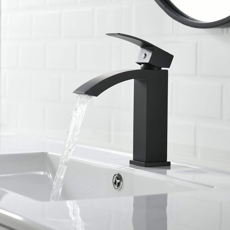 Kelelife Robinet de lavabo cascade