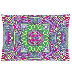 Custom Rectangle Pillowcase Paisley Pillow Case Covers 20X30 (One Side) CA-PC405