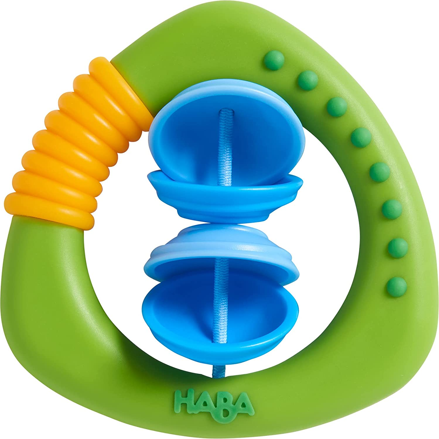 HABA Clutching Toy Cymbals (Silicone Plastic)