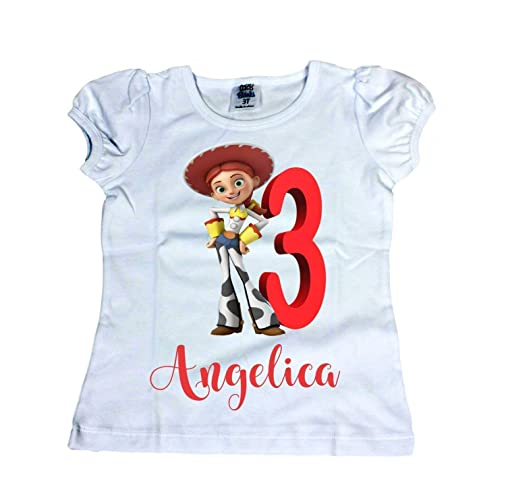 Amazon Girl Jessie From Toy Story Shirt Disney Birthday Handmade