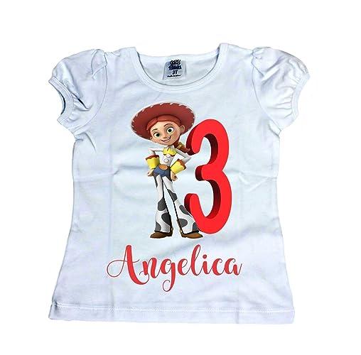 Amazon Girl Jessie From Toy Story Shirt Disney Birthday Handmade