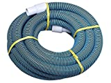 Swimming Pool Commercial Grade Vacuum Hose 1.25' - 20ft length with Swivel End