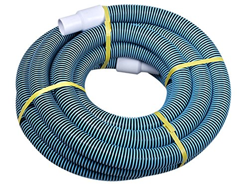 Swimming Pool Commercial Grade Vacuum Hose 25ft Length With Swivel End Robots Do It All