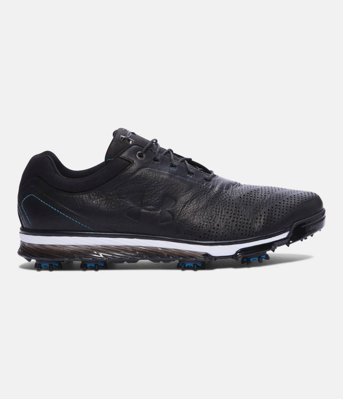 Under Armour Tempo Tour Golf Shoes (アンダーアーマー テンポツアー /ジョーダンスピース ゴルフシューズ)/ 3Colors (Black / Electric Blue, 27cm(US9)) [並行輸入品]   B01EJLVCSO