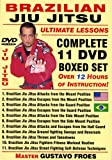 Brazilian Jiu Jitsu ''Ultimate Lessons'' COMPLETE 11 DVD BOXED SET, Starring Brazilian Master Gustavo Froes