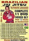 Brazilian Jiu Jitsu ''Ultimate Lessons'' COMPLETE 11 DVD BOXED SET, Starring Brazilian Master Gustavo Froes