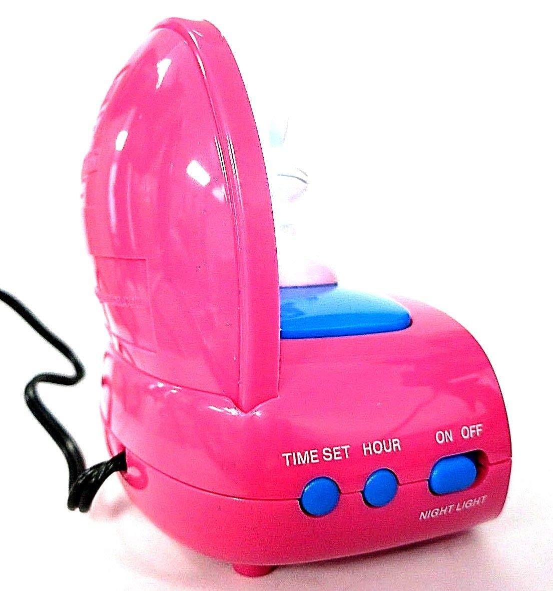 makes rude remarks or comments Its Happy Bunny Scenic Nightlight Alarm Clock Jim Benton
