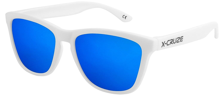 X-CRUZE 3er Pack X0 Nerd Sonnenbrillen polarisierend Vintage Retro Style Stil Unisex Herren Damen Männer Frauen Brillen Nerdbrille Nerdbrillen - schwarz matt LW - Set B - OvRjtgWC
