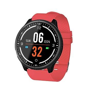 elecfan Reloj Inteligente Hombre, Monitor de Actividad con Pulsómetro Pulsera Deportiva Pulsera Actividad Inteligente para
