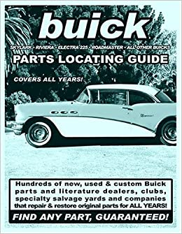 FIND any Buick PART parts with this book Guaranteed