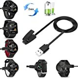Garmin Forerunner 235 Watch Charger, Fun Sponsor Charging Clip For Garmin Forerunner 235, Replacement Data Sync USB Charging Cable Wire Cord Clip Dock for Garmin 35/ 735XT, Garmin Watch Charger for Selected Forerunner Watches 1pcs